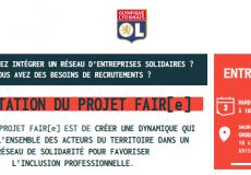 03.11.20 | Présentation du projet Fair[e] par l'Olympique Lyonnais